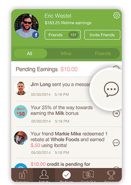 New in the app: Messaging & Nudge