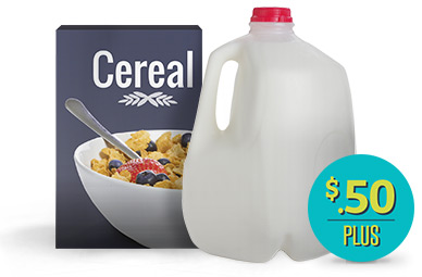 Any Brand Cereal now at Ibotta.